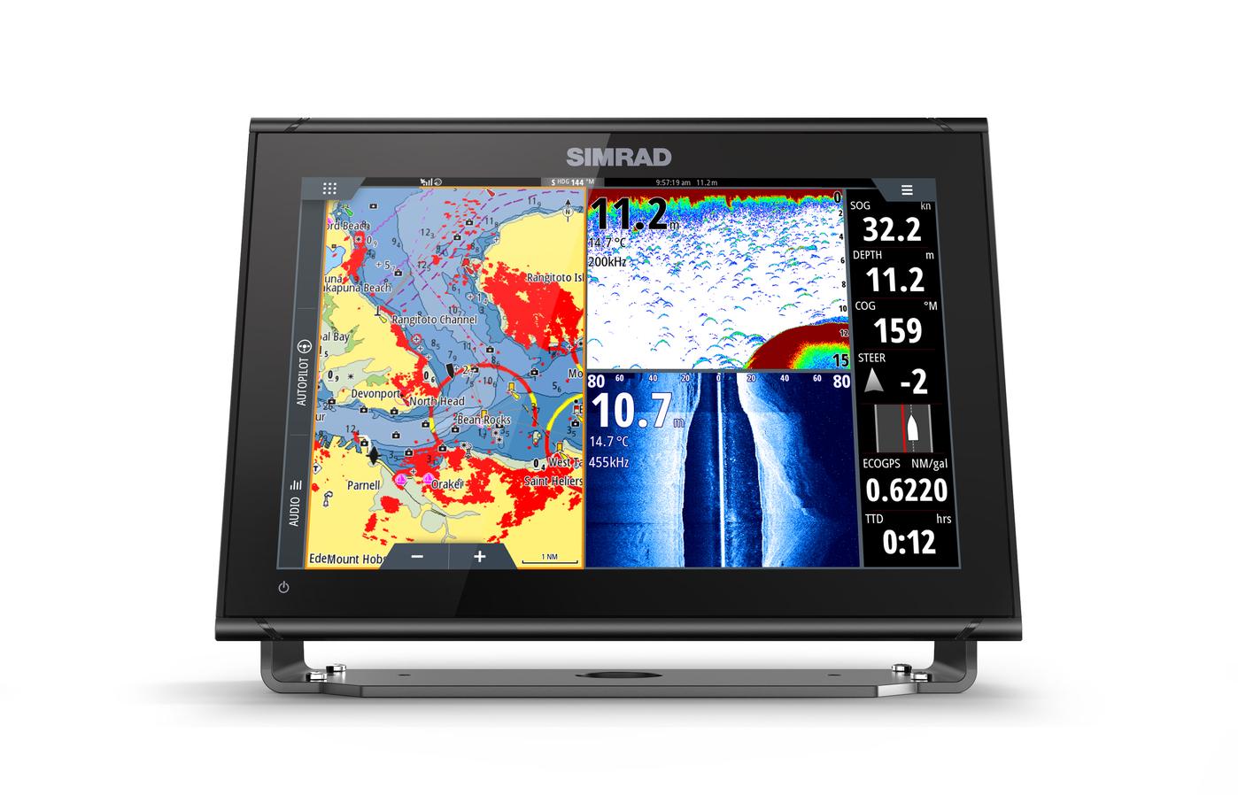 "Simrad Go12 GPS Kartenplotter Echolot MFD 12"""