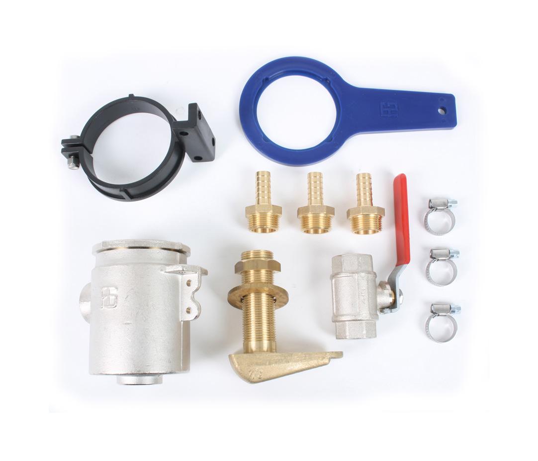 WhisperPower Wassereinlass Kits (versch. Ausführungen)