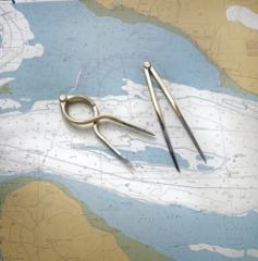 Einhand Navigationszirkel, 20cm