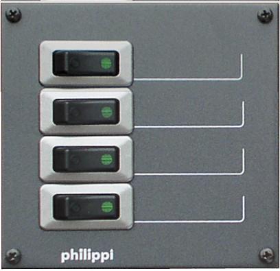 Philippi STV 204 für 4 Stromkreise