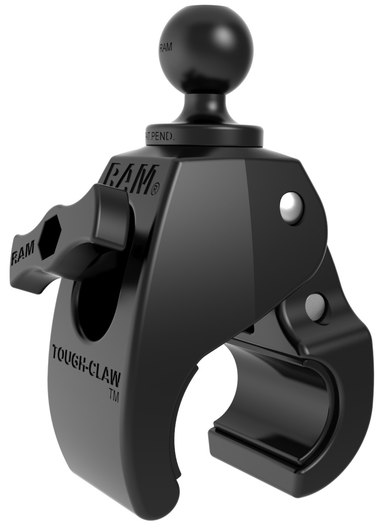 RAM MOUNTS Tough-Claw Halteklammer (mittel) mit 1 Zoll Kugel (B)