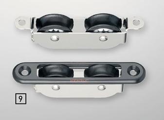 Sprenger 8mm Einlassblock doppelt Kunststoff