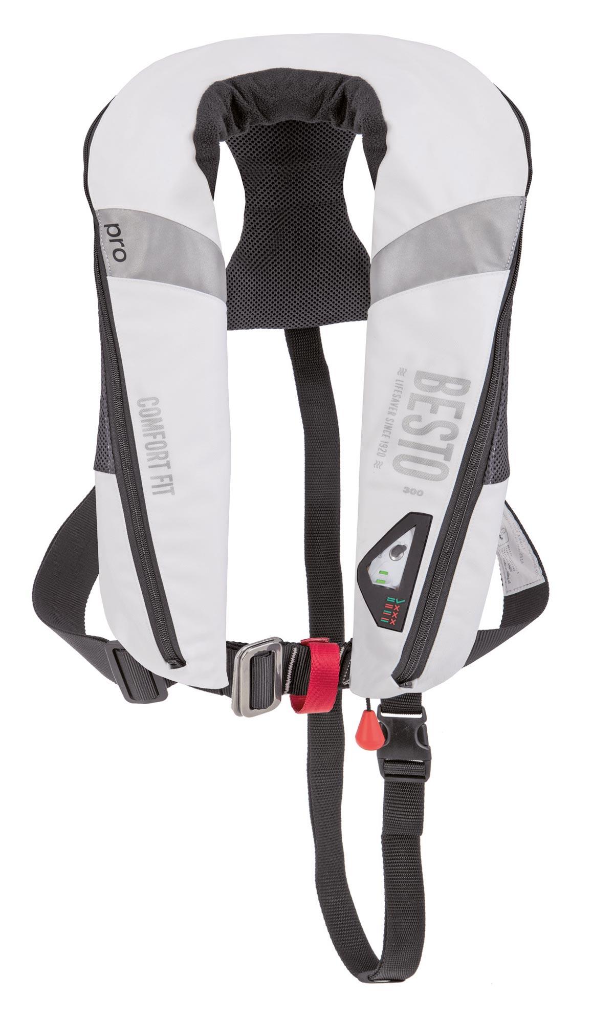 Besto Comfort Fit Pro 300N Rettungsweste weiß