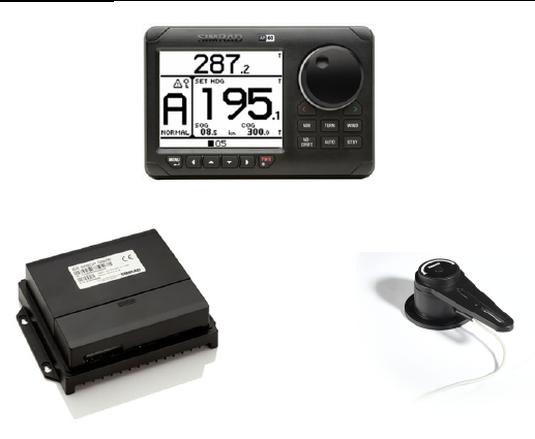 Simrad AP60 Core Pack mit AP60 und AC70 und RF300
