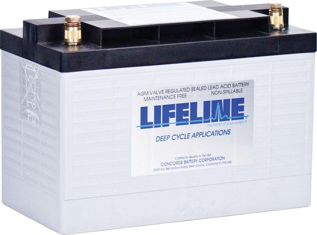 Lifeline GPL-31XT AGM Batterie 125 Ah