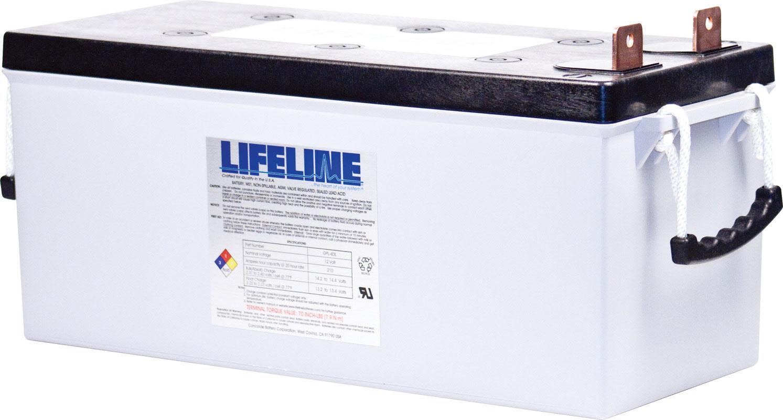 Lifeline GPL-4DL AGM Batterie 210 Ah