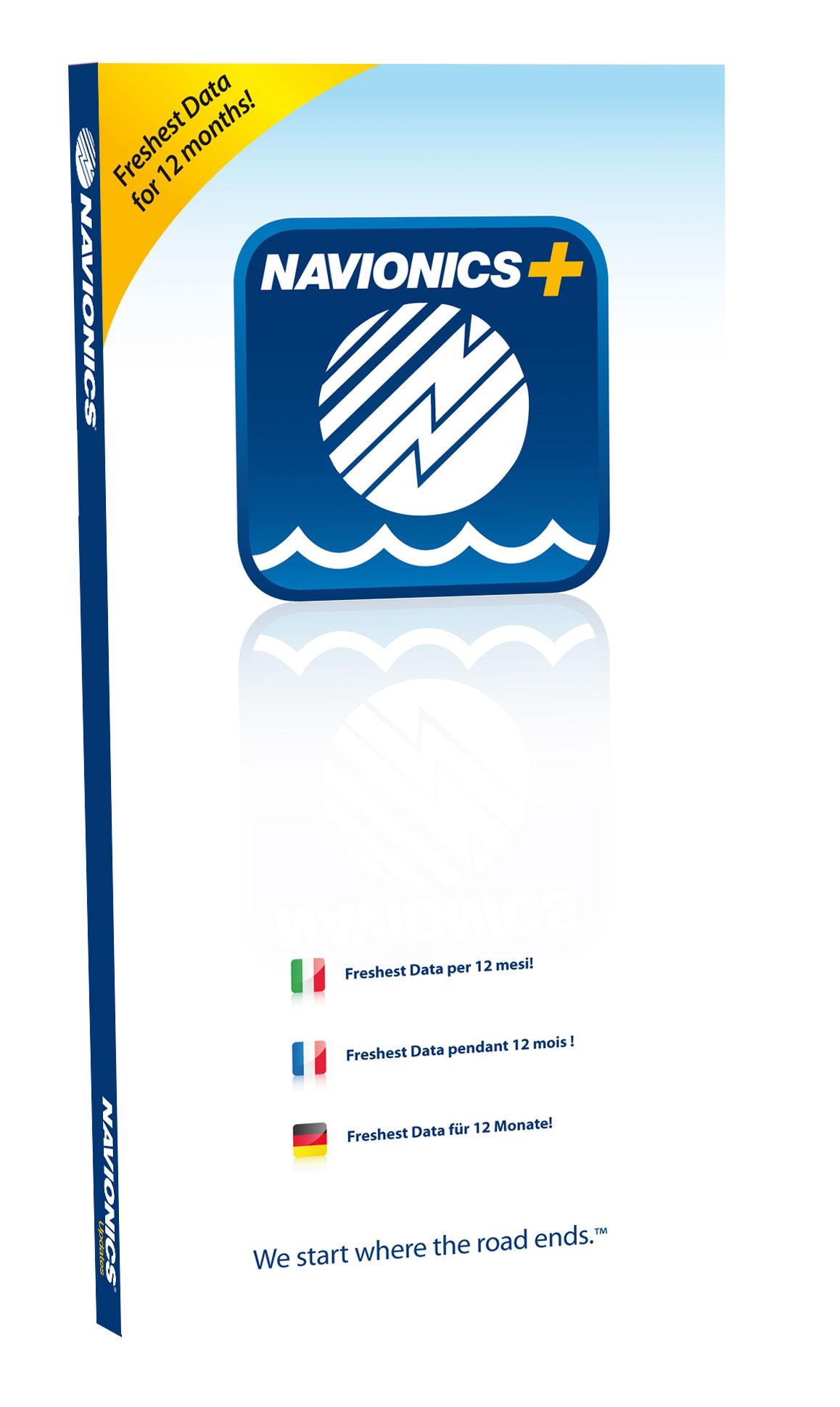 Navionics Plus Seekarten Modul