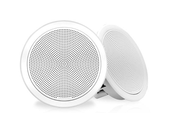 Fusion Lautsprecher FM-F77RW weiß rund