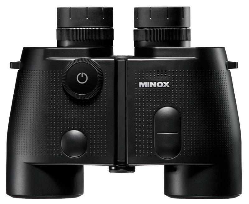 Minox BN 7x50 DC, Fernglas mit digitalem Kompass Farbe Schwarz