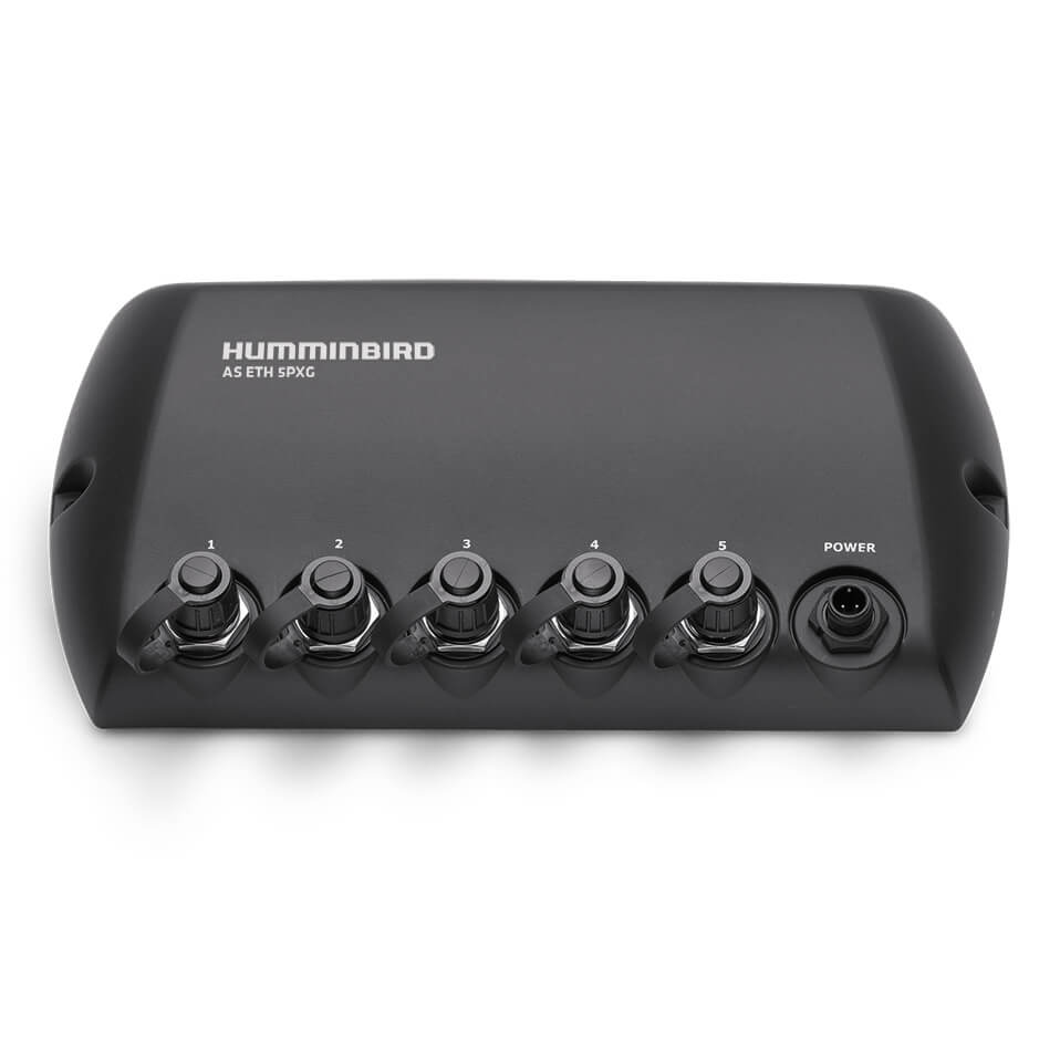Humminbird AS ETH 5-PXG 5er Port Ethernet Switch