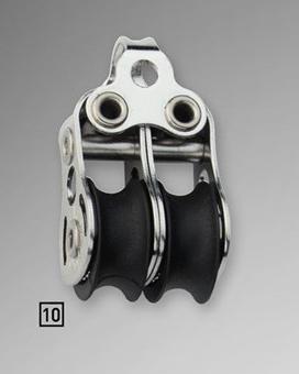 Sprenger 6mm Micro XS Block doppelt mit Bügel