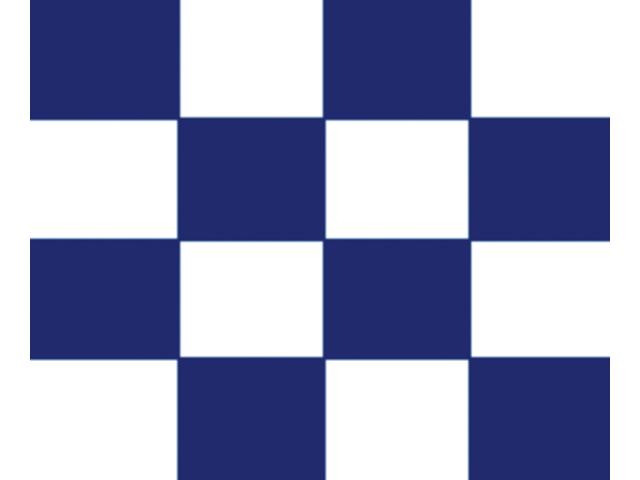 Talamex Buchstabenwimpel Abm. 30 x 36 cm Signalflagge N