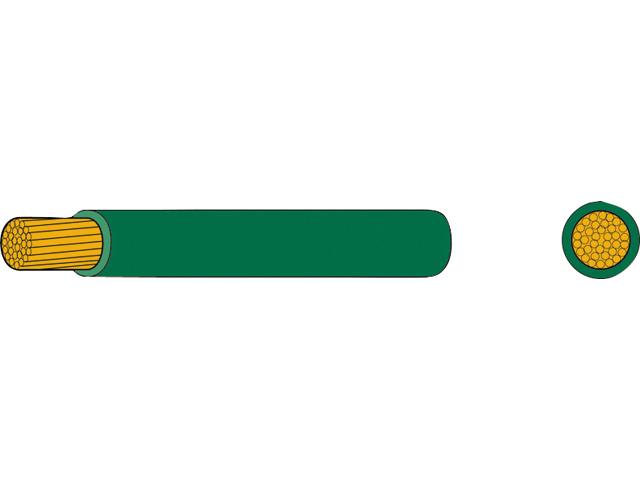 AutoMarine Gleichstrom Montage Kabel Mantel grün