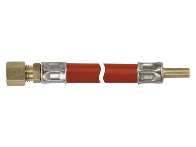 Talamex Gasschlauch Gasleitung 8mm RVS x 8mm RST (versch. Längen)