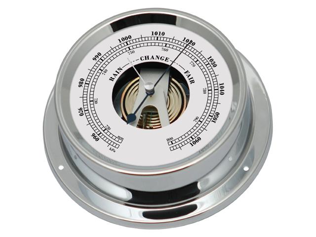 Talamex Serie 125 Messing verchromt Barometer