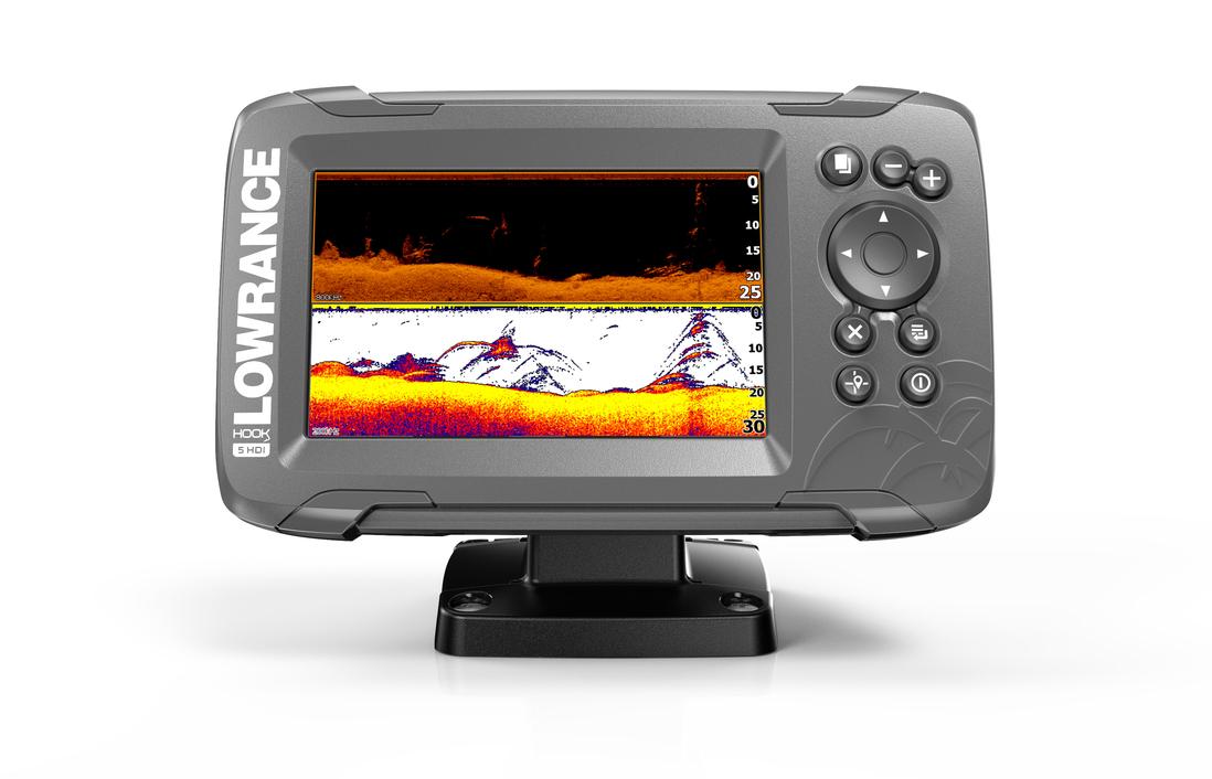 Lowrance Hook2-5x GPS Echolot Fishfinder SplitShot