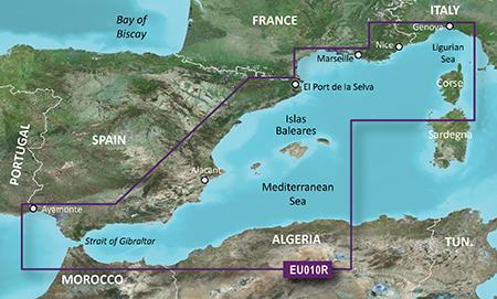 Garmin BlueChart g3 Seekartenmodul EU010R auf microSD/SD-Karte