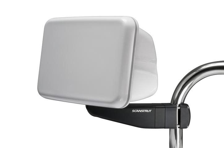 Scanstrut SPR-8-AM, Pod für Reling für 1 x 9 Anzeige, mit Arm