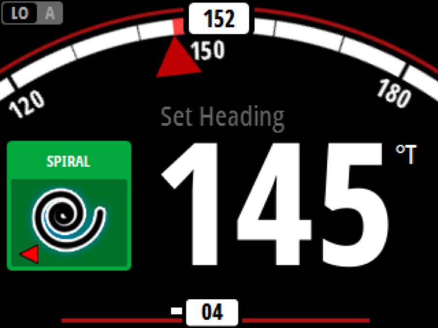 Simrad AP48 Komfort Autopilot Bedienteil