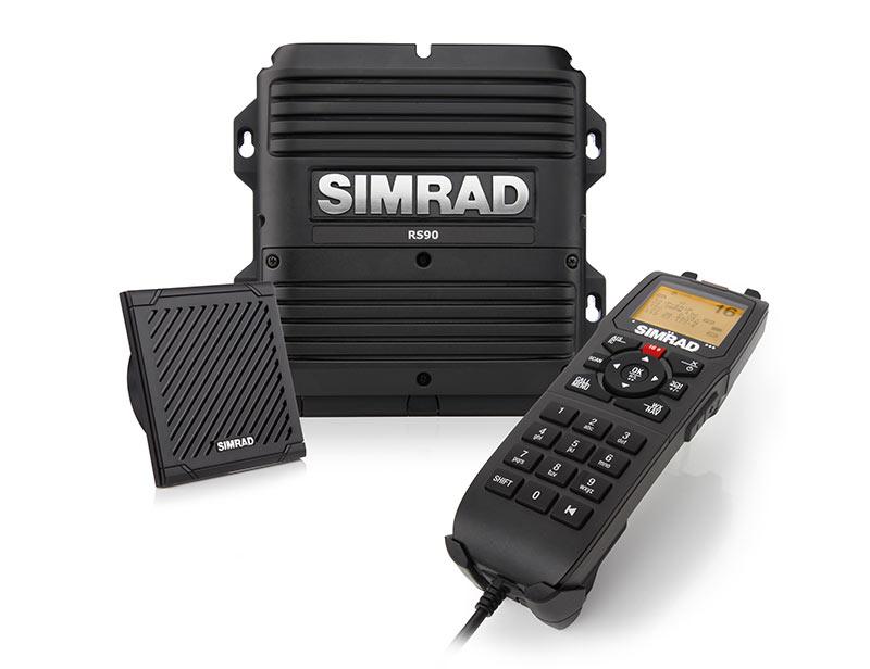 Simrad RS90 See- Binnenfunkanlage, Blackbox, Handhörer, Lautsprecher