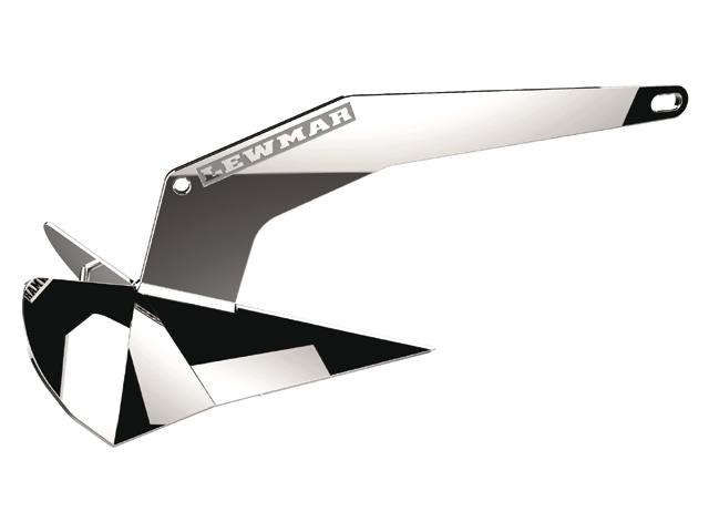 Lewmar DTX® Anker Edelstahl (in verschiedenen Größen)