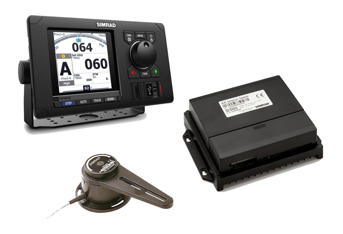 Simrad AP70 MK2 Pro Pack (AP70 MK2, AC70, RF300)