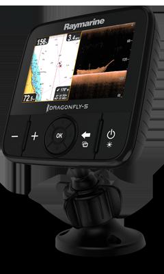 Raymarine Dragonfly 5 M GPS Kartenplotter