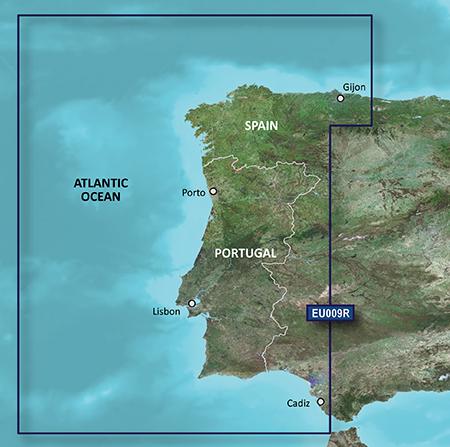 BlueChart g2 Vision Seekartenmodul REGULAR VEU009R (010-C0767-00)