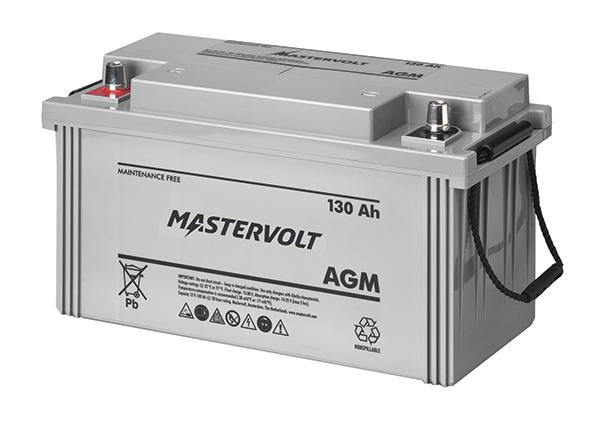 Mastervolt AGM Batterie 12V 130Ah