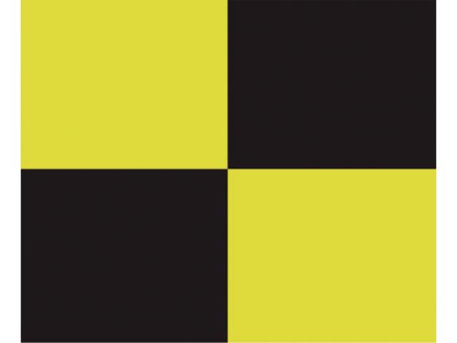 Talamex Buchstabenwimpel Abm. 30 x 36 cm Signalflagge L