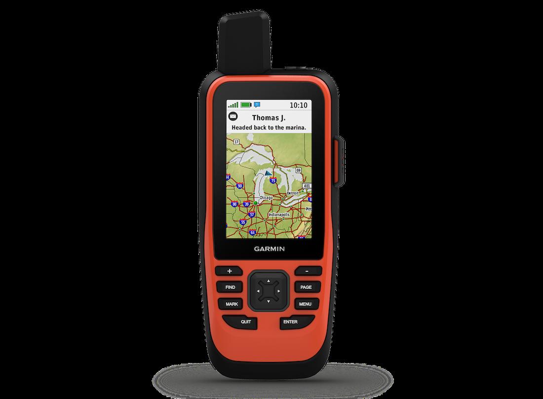 Garmin GPSMAP 86i Marine-Handgerät mit inReach Seekarte