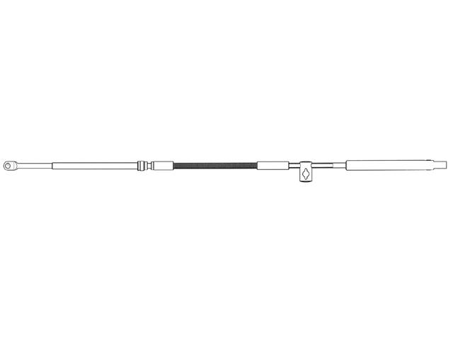 Ultraflex Mach36 Schaltzug (verschiedene Längen)