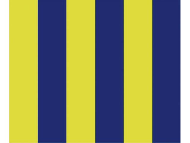 Talamex Buchstabenwimpel Abm. 30 x 36 cm Signalflagge G