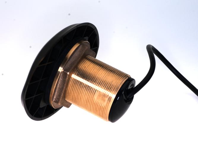 Lowrance HDI XDCR Durchbruchgeber Bronze X-Sonic 9-Pin Anschluss