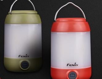 Fenix CL23 LED Campingleuchte in Grün