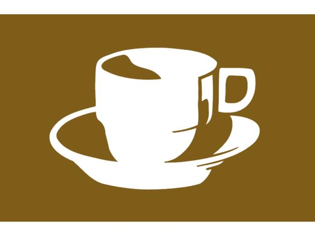 Talamex Spassflagge 30 x 45 cm Kaffee