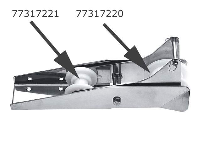 Talamex Ersatzrolle Nylon, klein für Bugrolle Beweglich