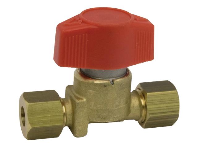 Talamex Gas Installation Schnellverschlussventil