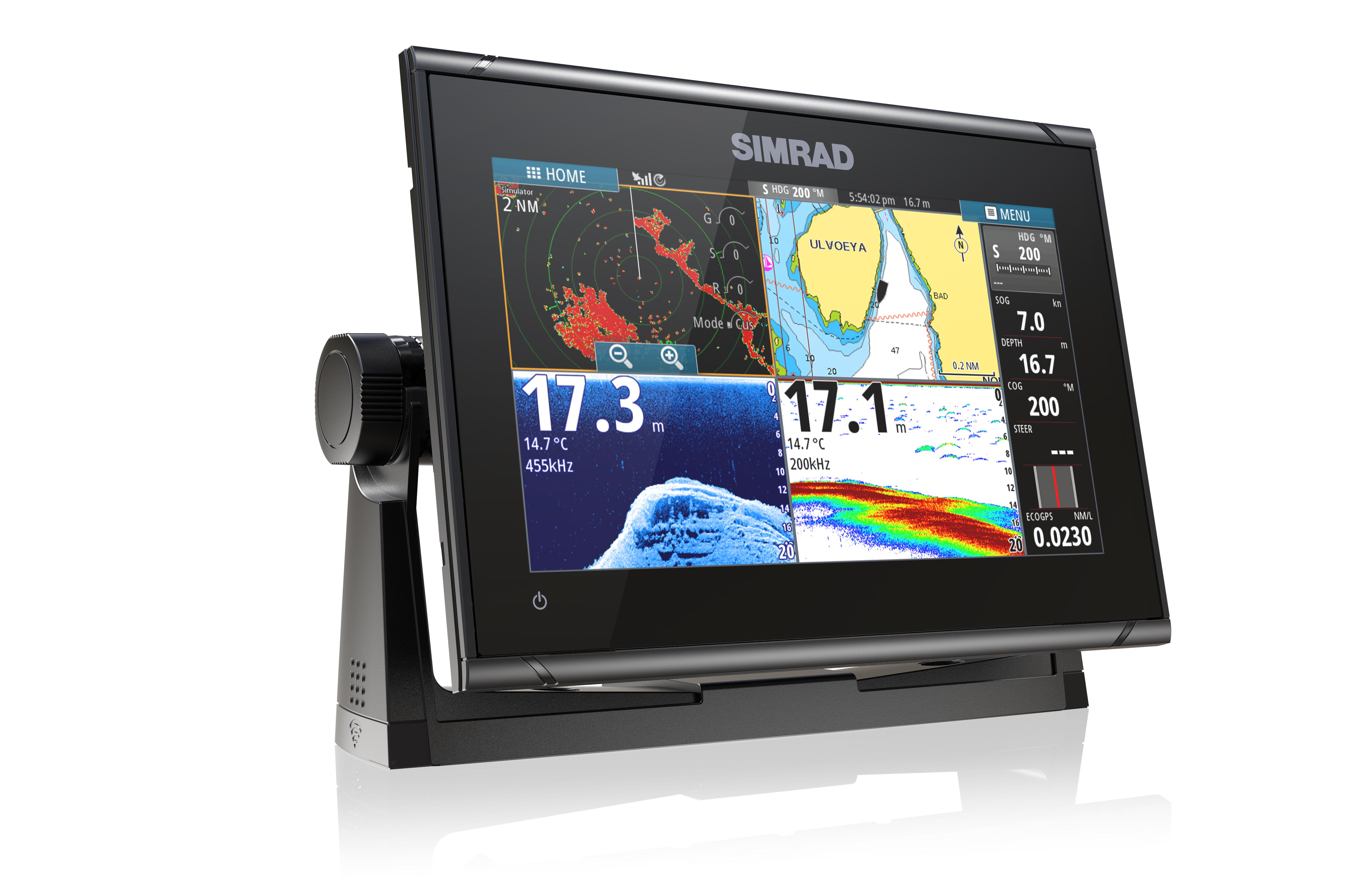 Simrad Go9 XSE Multifunktionsdisplay 3G Radar Bundle