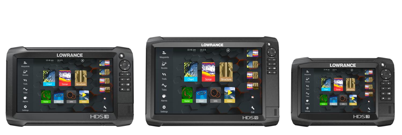 Lowrance HDS Carbon Serie mit HDS-7, HDS-9 und HDS-12
