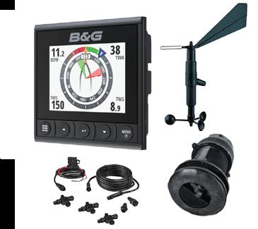 B&G Triton2 multifunktionales Color Instrument NMEA2000 Set DST800 Wind 508