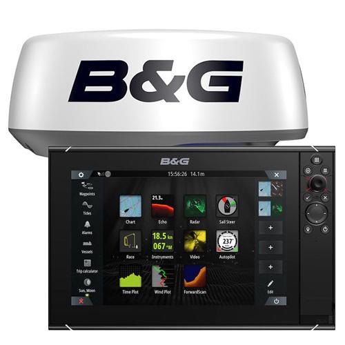 B&G Zeus™ 3S 12-Kartenplotter MFD mit Halo20+ Radar
