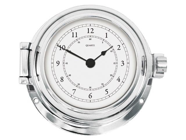 Talamex Serie 125 Messing massiv verchromt Uhr