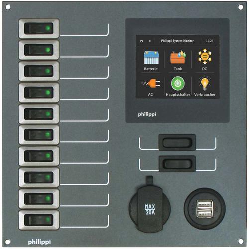 Philippi STV 250 10 Stromkreise mit PSM