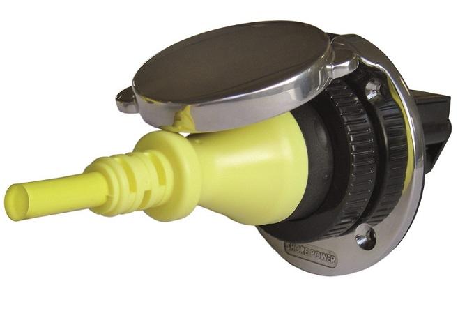 Landanschluss Edelstahl Bordeinspeisung Ratio MP 16-10 (16A)