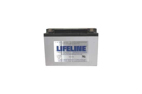 Lifeline GPL-1400T AGM Batterie 43 Ah