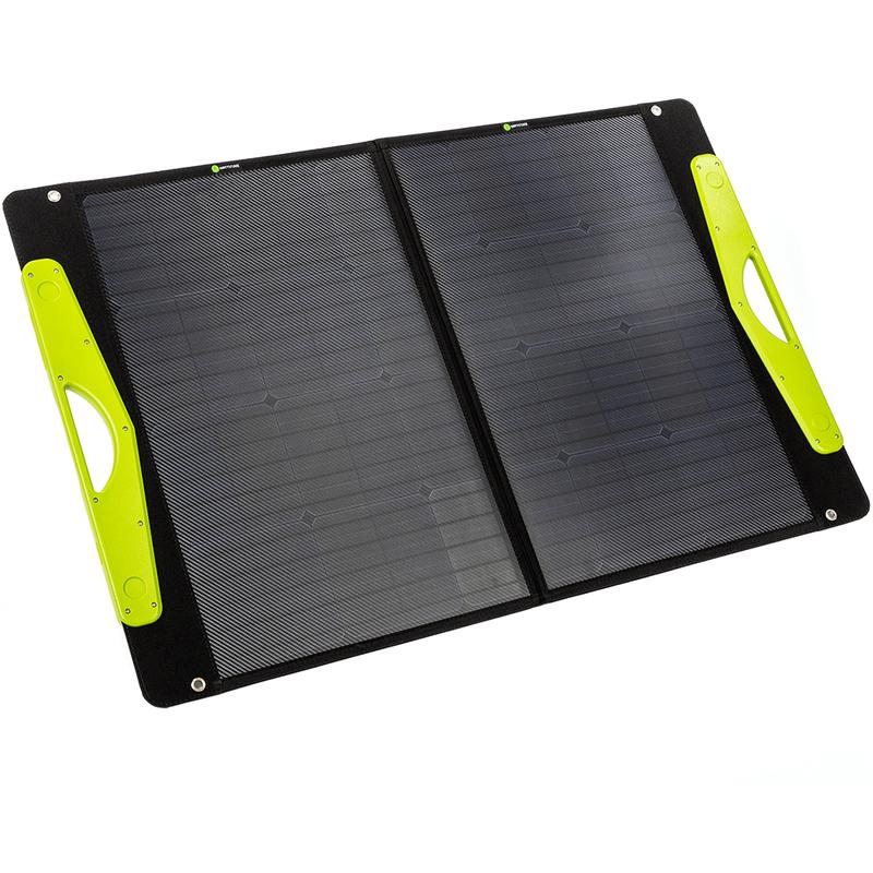 WATTSTUNDE® 100W SolarBuddy Solartasche WS100SB direkt mit USB Anschluss