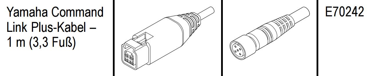 Raymarine Yamaha Command-Link Kabel 1m (E70242)
