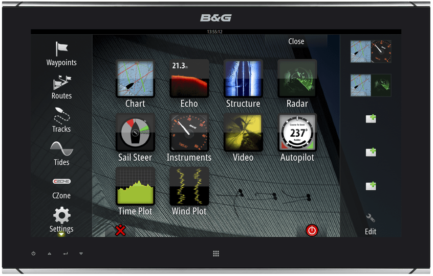 B&G ZM19-T Touch Monitor