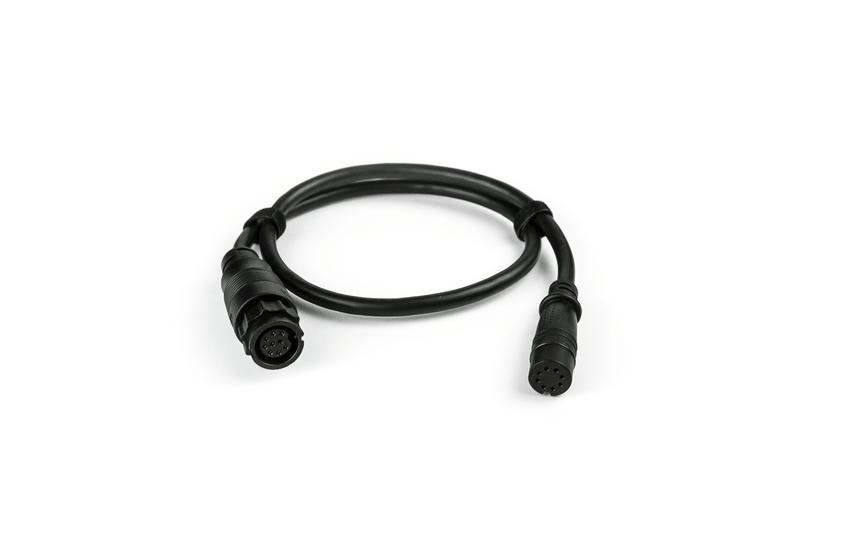 Lowrance Adapter für X-Sonic 9 Pin Geber an Hook2 Geräte